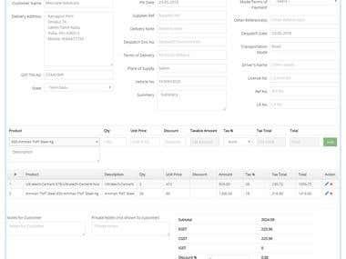 Billing Software/ Inventory Management Software