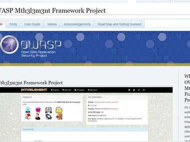 Mth3l3m3nt Framework Project