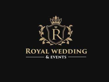 Royal Wedding & Events Logo Design