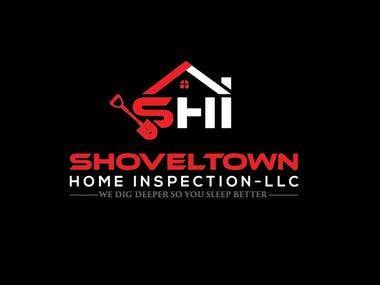 Shoveltown Home Inspetation LLC logo Design