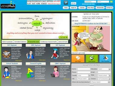 VocabMagik E-learning Portal