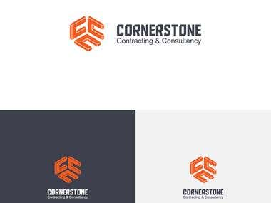 Cornerstone Contracting & Consultancy Logo Design