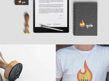 Ignite (Young Adult Ministry) Logo Design