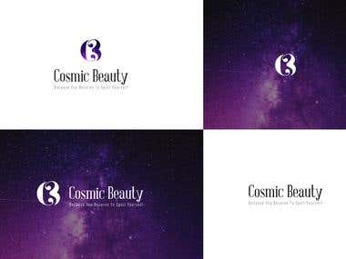 Cosmic Beauty Logo Design