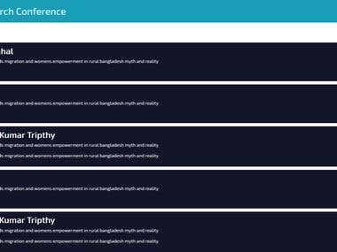 Mobile App - Conference Marketing