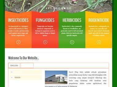 WordPress website -Agro Pesticides
