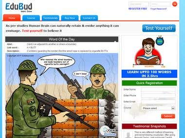 Edubud E-learning Portal