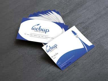 Webup business Card