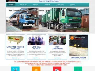 HTML Website - Engineering