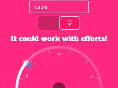 Love Meter App