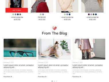 OneLife Tofino - eCommerce website