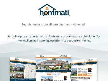 Hommati - A real estate platform