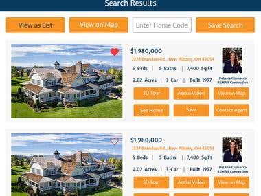 Hommati - Real estate mobile app