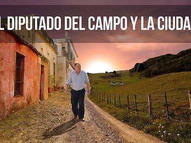 """Publicidad """"El diputado del campo y la ciudad"""""""