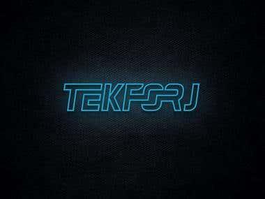 TekForj Logo Design | Technology Logo Design
