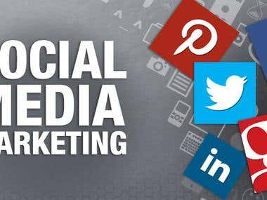 I can do Social Media Marketing.