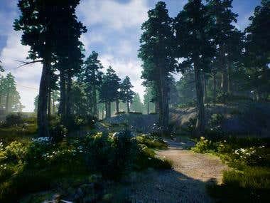 bigger Landscape and tree