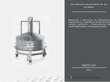 CALIBRADOR VOLUMETRICO DE 50 GALONES