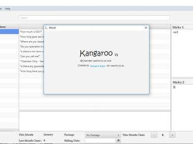 kangaroo [The Database base JavaFX Application]
