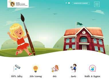 PSD-To-Html Julian Nursery School And Pearson Education