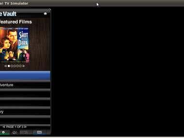 Movie Vault TV Widget