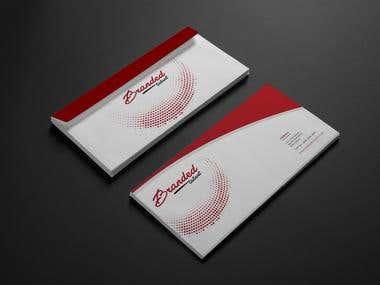 Branded Talent Envelope