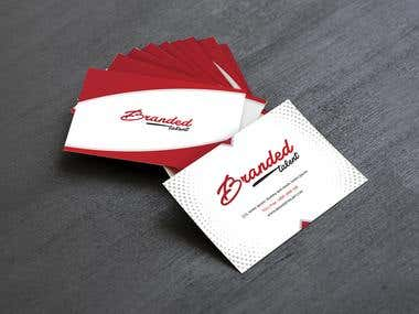 Branded Talent Business card