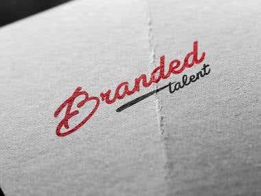 Branded Talent logo