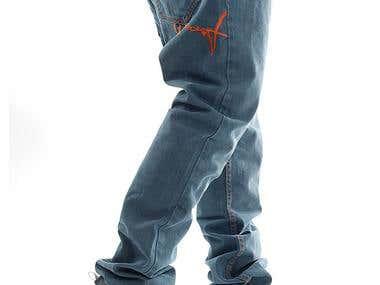 Jeans design fo r stoprocent.com