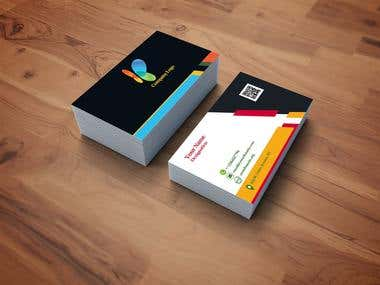Professional graphics designer for business cards!