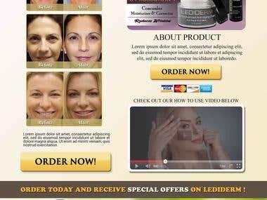 Landing Page : Anti Aging