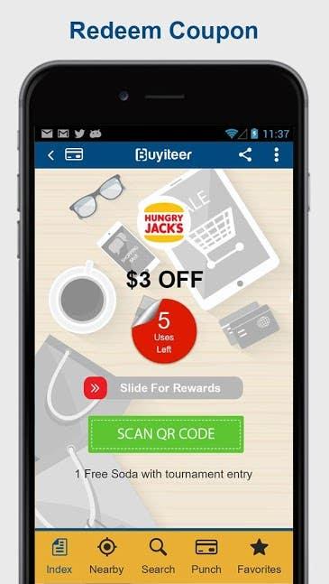 Buyiteer - Coupons App