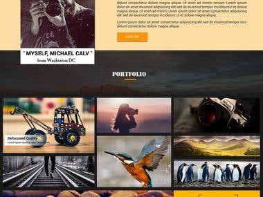 Landing Page : Portfolio