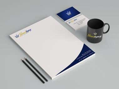 Stationary/Business Identity Designing
