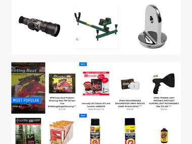 Club Outdoors - eCommerce website
