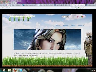 Fluid Based Website Develop