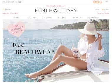 Mimiholliday Shopify Store