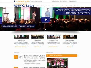 Motivational Speaker ( Personal website)