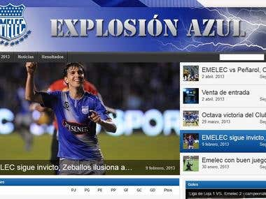 Web Page Soccer