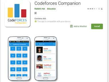 Codeforces Companion [ Mobile Application ]