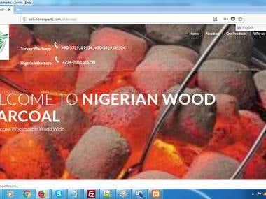 Charcoal suppliers (Wordpress)