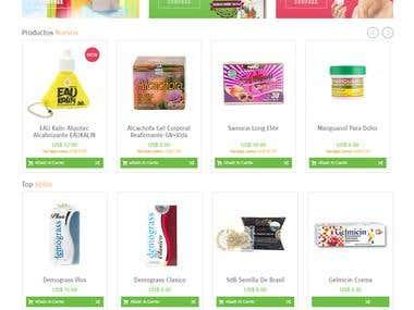 Supplements Store - Magento
