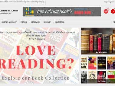 Ecommerce + Online Bookstore