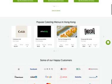 CaterSpot Website Wordpress