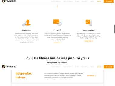 Trainerize Personal Training Software for Fitness Profession
