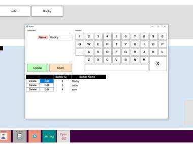 POS software for Barber Shop