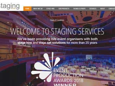 Staging Services Ltd | Stage Hire | Set Building | Outdoor S