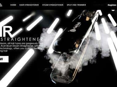 RushBrush 3D advertisement