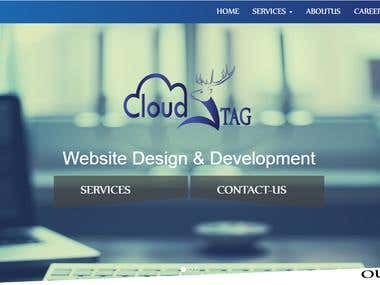 Cloud stag Website