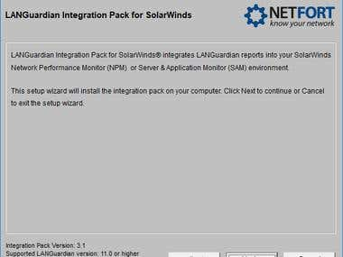 Customized installer for an application.
